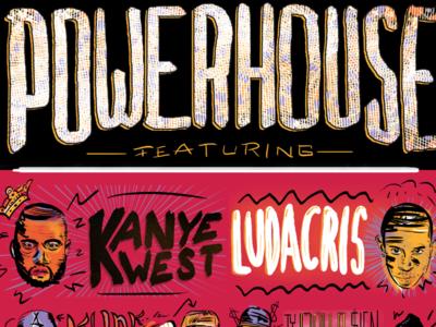 Powerhouse Concert Poster