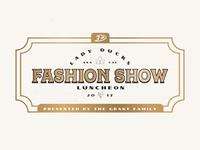Fashion Show Branding