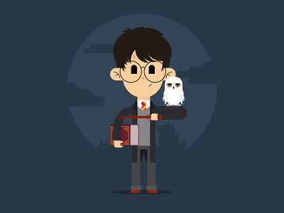 Happy Birthday Harry Potter!!! wizard school magic hogwarts hedwig owl potter harry birthday happy