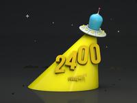 UFO in 3d