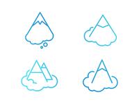 Mount Dream Logo Variations
