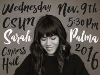 Sarah's Concert!
