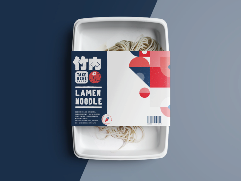 Noodle package delivery ramen packaging