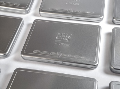 RSM Classic tins