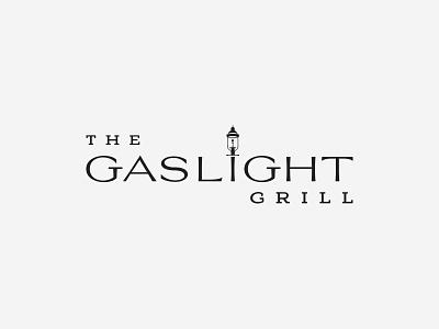 Gaslight Grill - Exploration v2 branding type nc north carolina illustration vector logo typography design