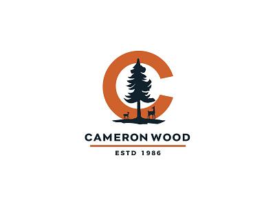 Cameron Wood - Logo Explore 2 branding vector typography type logo design