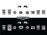 Free Range Brewing - Additional logo marks