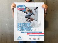 Adidas Bozcaada Yarı Maratonu Branding