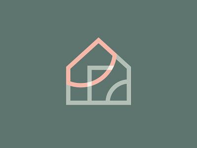 EvDekoru Icon overlap decoration logodesign brand identity branding house logo logomark mark icon home decor decor house home logo