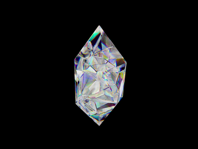 Crystal Hype 💎 illustration hypnotic visuals abstract art abstract crystals nfr etherium eth blockchain cryptocurrency crystal loop motion design motion 3d art 3d cinema4d c4d
