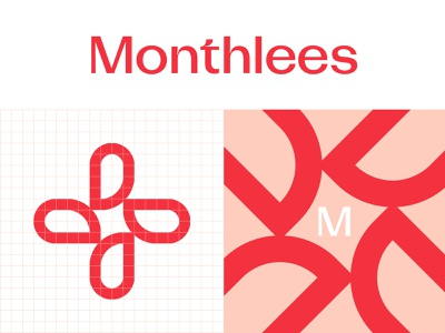 Visual Identity System cycle period women supplements wellness health symbol wordmark logomark pictorial logo identity system visual identity visual elements pattern design logo design logo