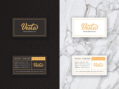 Vesta cards by alex spenser dribbble vesta cards business colourmoves