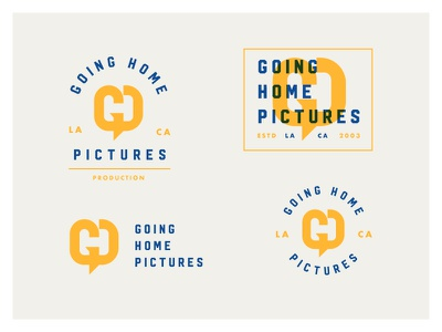 GHP smart branding minimal geometric simple badge monogram symbol mark logo