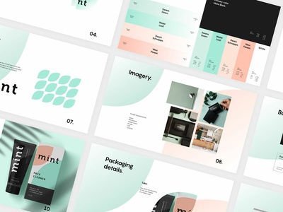 Brand Identity Guideline design type logo brand identity branding guidelines branding agency branding pastel brand and identity mockup packagingdesign imagery color palette pattern