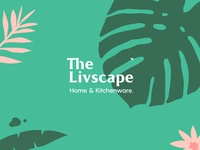 The Livscape Logo & Brand Identity
