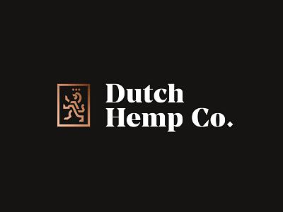 Logo Concept branding lion logo bold coper foil gold high-end premium typography type serif logotype mark mascot lion crest logo netherlands dutch
