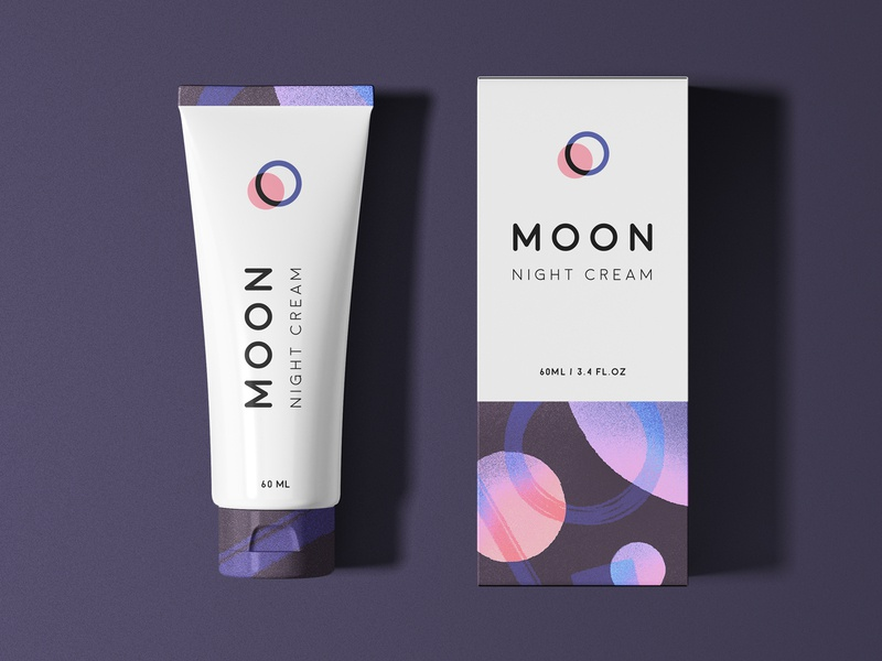 MOON Packaging study design type illustration night solar system space typogaphy mark logo branding packaging texture pattern abstract geometry planet universe moon