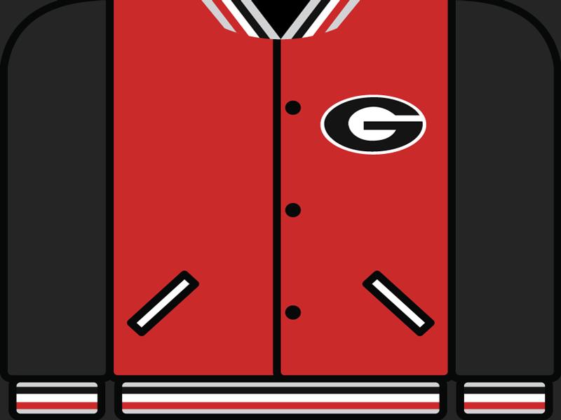 College Football Countdown: Georgia letterman college football ncaa uga georgia bulldogs georgia