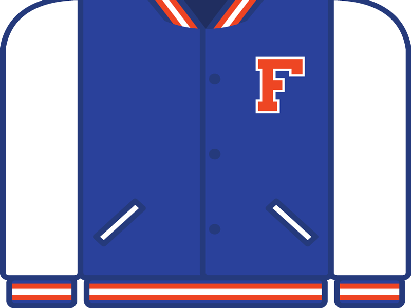 College Football Countdown: Florida college football letterman ncaa florida gators uf florida