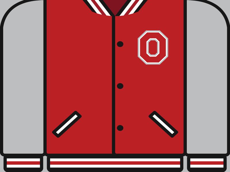 College Football Countdown: Ohio State  letterman ncaa college football tosu buckeyes ohio state buckeyes ohio state
