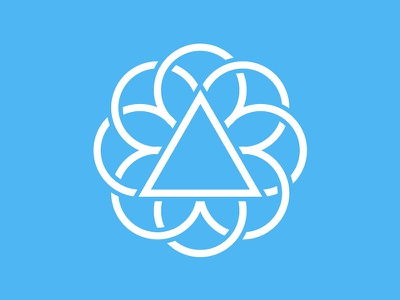 Unused logo rose window trinity church logo unused
