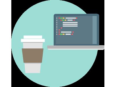 Development Icon icons illustrator development