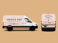 Jessica Rae Productions Van Wrap