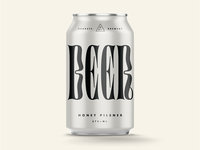 Minimalistic Beer can
