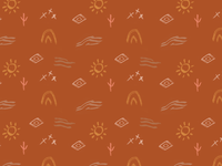 Desert inspired wallpaper