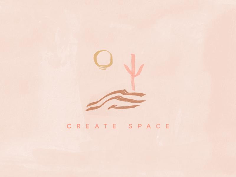 Desert inspired illustration pink icon boho wallpaper design wallpaper hand drawn illustration desert