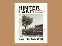 Hinterland Music Festival Poster