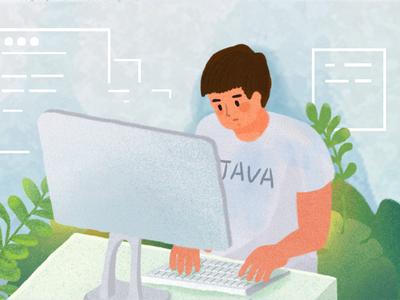 Programmer illustration