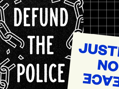 Defund the Police, No Justice No Peace open source free justice acab prison police design downloadable poster protest protest poster no justice no peace defund the police blacklivesmatter