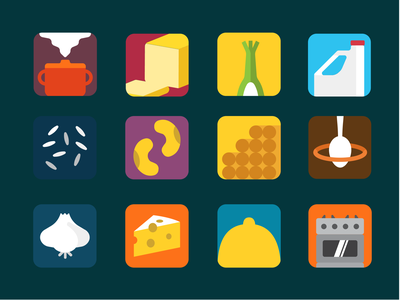 Food Waste Reuse Game ui design recipe maker recipes app waster reduction circular economy food icons icon game prototype cooking food food waste recipes