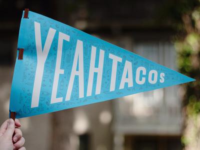 Yeah Tacos Flag