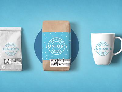 Roasted Coffee whole bean label package roaster roastery coffee 15minutelogos brand type logo vector design