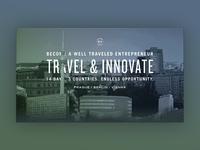 Innovation Crawl Parallax