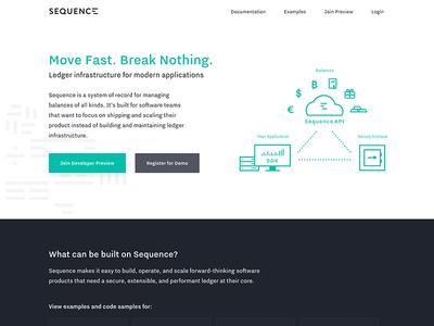 Sequence Website