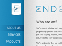 End2End initial site design
