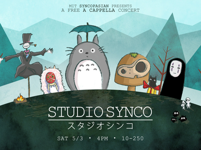 Studio Synco/Ghibli miyazaki princess mononoke ghibli anime howls moving castle spirited away totoro illustration