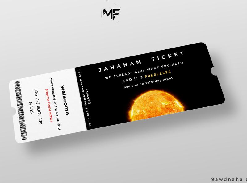event ticket ticket event sarcasm design illustration