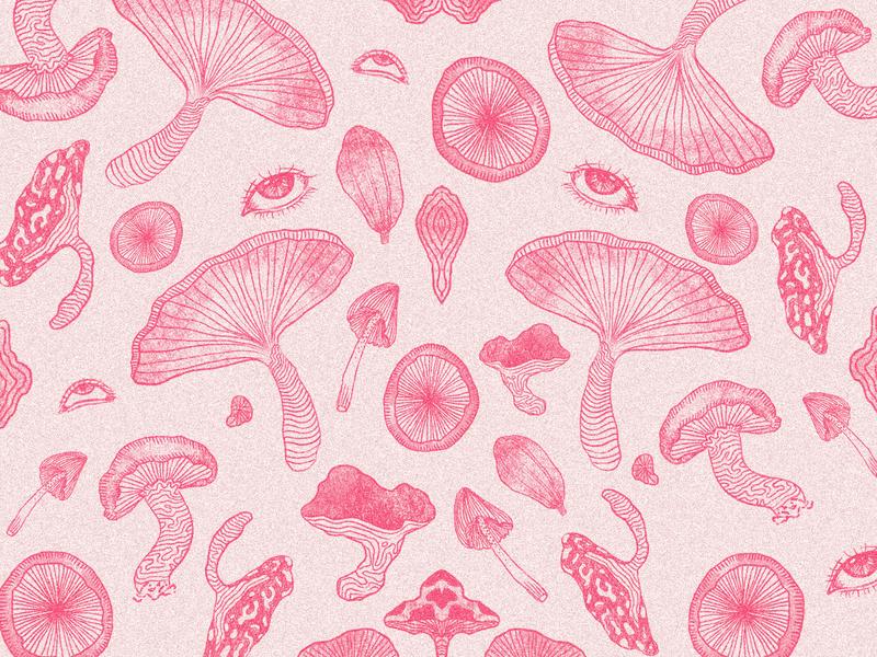 Psilocybin Illustration hallucinogen cacao marihuana psychedelic canabis packaging brand illustration illustration