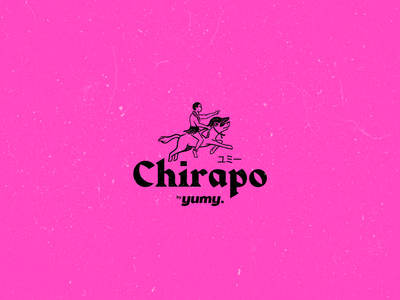Chirapo Brand hawaii japanese food food branding logo brand identity brand design