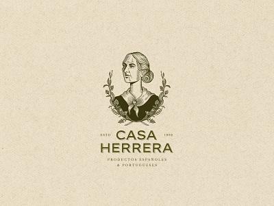Casa Herrera identity design logo illustration branding logo brand design brand identity illustrator branding design