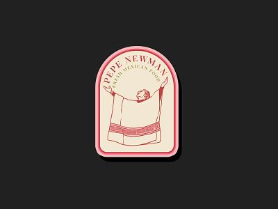 Pepe Newman logobrand logoinspirations logotype identity design brand design branding illustration brand identity logo