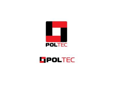 Логотип Poltec photoshop logo illustrator discount devident dev design catalog