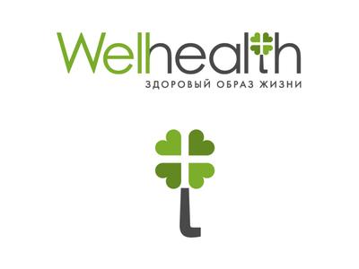 Логотип Welhealth design vector logo dev devident photoshop illustration illustrator