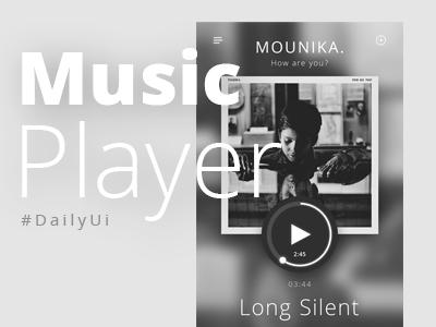 Music Player DailyUi