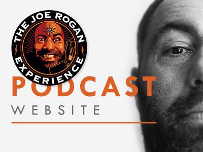 The JRE Podcast Website Design
