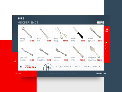 EHIRE #3 Hire Cutlery